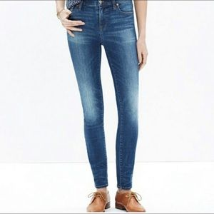 "Madewell Jeans -9"" HR skinny (petite)"